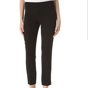 DKNY Black Perry Wool Cropped Trouser Pants EUC